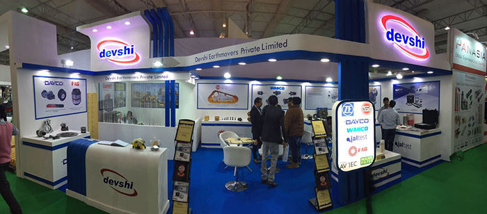 Devshi participated in BAUMA INDIA, Gurgaon, 2016