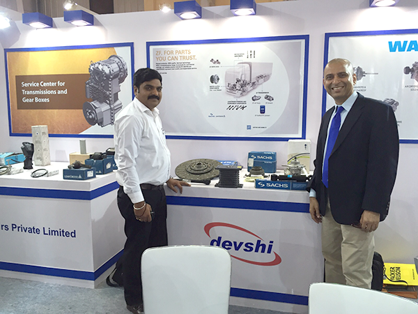 Devshi successfully participated in EXCON, 2015 at Bangalore