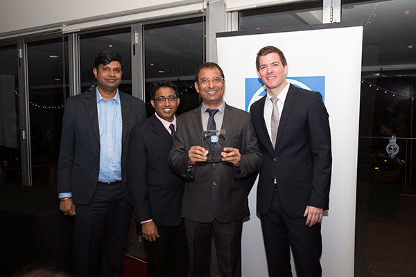 Devshi won the Highest Sales Turnover Award from ZF from India, 2015