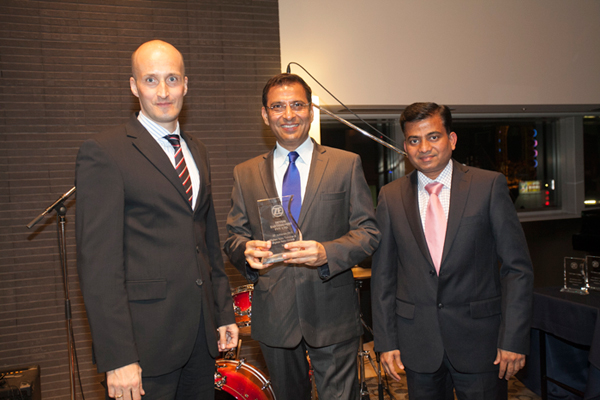 Devshi won the sole ZF Achievers Award from India for 2013, 2014