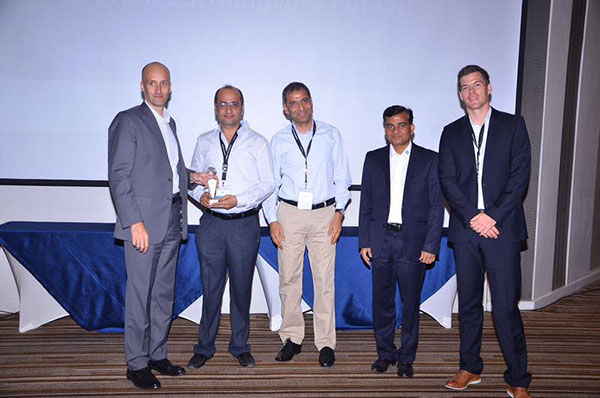 Devshi won the Highest Sales Turnover Award from ZF from India, 2016